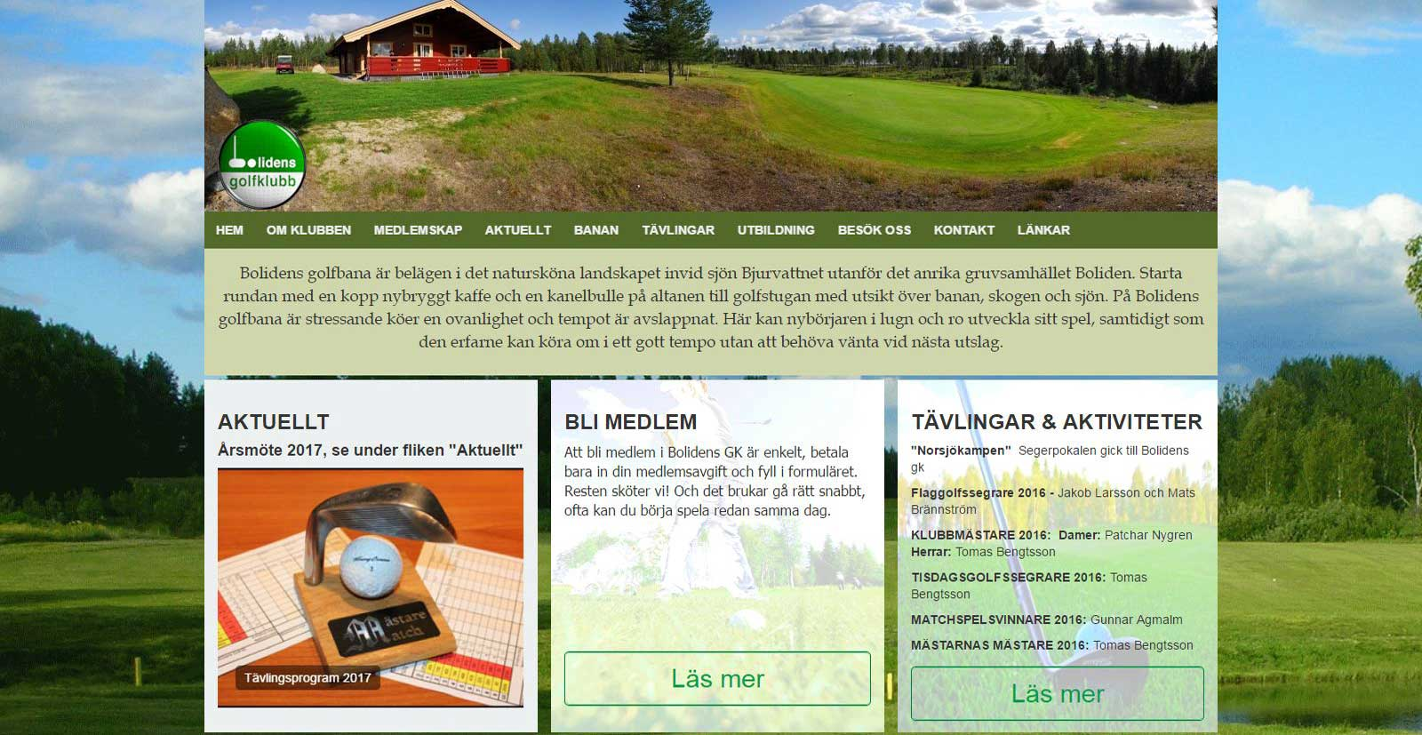 Bolidens Golfklubb